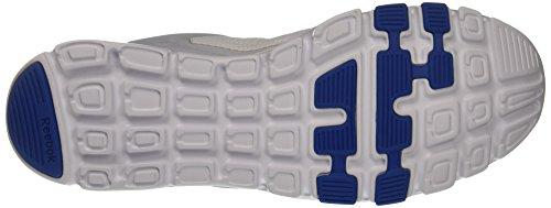 Reebok Yourflex Train 9.0 Mt, Chaussures de Fitness Homme Blanc (White/vital Blue/cloud Grey)