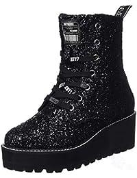 Botas Amazon Mujer Militares es Para Zapatos 38 SqHq05