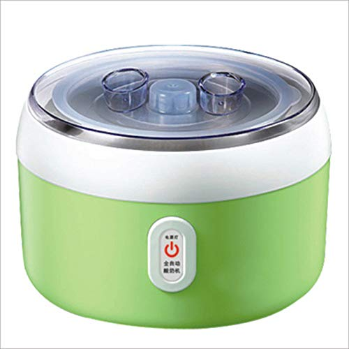 LSQ Automatische Joghurt-Maschine, Lebensmittelqualität Kunststoff-Liner PTC konstante Temperatur Heizung LED-Anzeige nach Hause Joghurt-Maschine Joghurtprodukt Tools,C