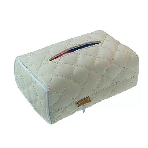 ssue Box & Sitz Zurück mit Gewebe Mine Auto Zubehör Tragbare Kfz-halterung Organizer & # xff08; 2pack & # xff09; (Index-karte Speicher)