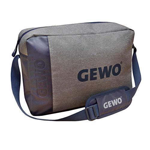 GEWO Messenger Bag Freestyle, St, grau Melange/blau -