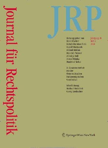 Journal für Rechtspolitik [Jahresabo]