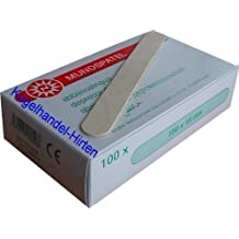 100 Espátulas de Madera 150 x 18 mm de Noba Verbandmittel