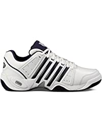 K-Swiss Performance Ks Tfw Accomplish Ltr-white/Navy/Silver-m, Baskets de tennis homme