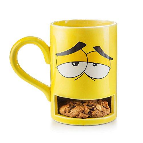 Donkey 210320 Mug Monster, Mug à gâteau, jaune