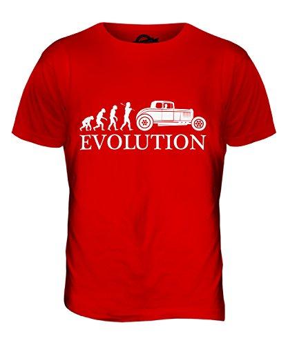 CandyMix Hot Rod Evolution Des Menschen Herren T Shirt Rot