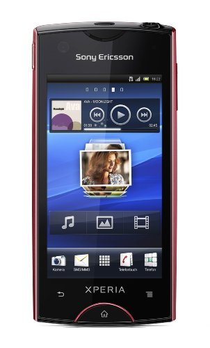Sony Ericsson Xperia ray Smartphone (8,4 cm (3,3 Zoll) Display, Touchscreen, 8 megapixel Kamera, Android 2.3) rosa Sony Ericsson Pink