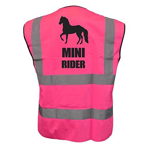 Bambini Cavalli Mini Rider Hi Viz gilet