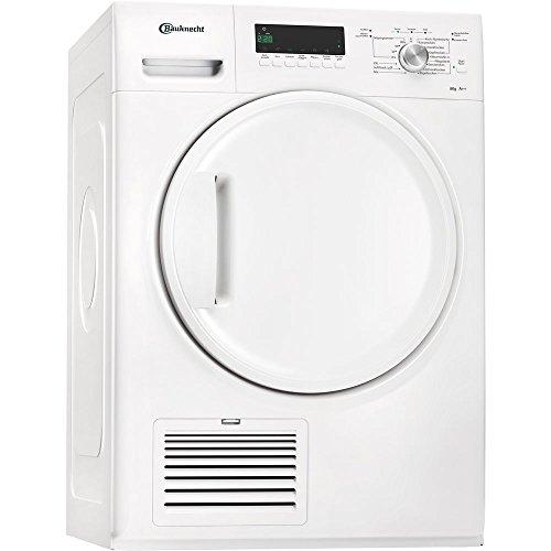 Bauknecht TK Plus 8A2Di Wärmepumpentrockner / 8 kg / weiß / Knitterschutz / SoftFinish / Startzeitvorwahl