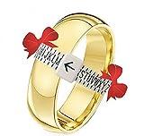 Uk Ring Sizer ~ For Measuring Finger Ring Sizes A-Z