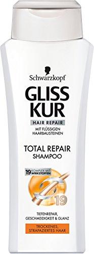 Gliss Kur Total Repair Shampoo, 6er Pack (6 x 250 ml)