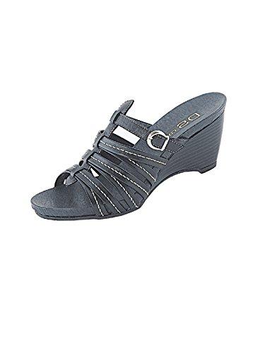 Marion Spath  Art.17-04-12-schwarz-35, chaussures compensées femme Noir