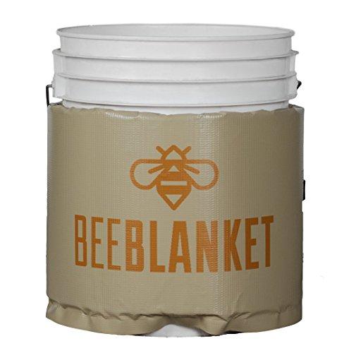 powerblanket bb20-uk isoliert, die Sie Heizung, Honig Bucket Heizung Bee Decke, feste Thermostat Set zu pflegen 38Grad C/100°F, 20L, Anthrazit (Ohr-heizung)