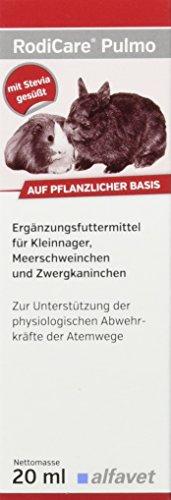 Alfavet RodiCare Pulmo, 1er Pack (1 x 20 ml) ($20 Käfige Unter Hamster)