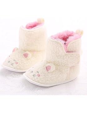 Hunpta Babyschuhe Mädchen Jungen Lauflernschuhe Kleinkind Baby Junge Mädchen Katze geformt weichen Sohle Winterstiefel...