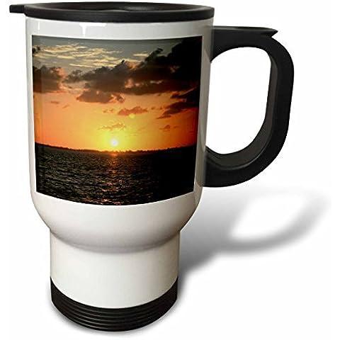 statuear Florida Sunset 14-ounce de acero inoxidable taza de viaje