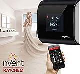 SENZ ELEGANT I PERLSCHWARZ I Wifi Touch Thermostat & SMART Phone App I Raum & Wandthermostat I Smart IoT Fernbedienung I Programmierbar Thermostat für Heizung & Elektrische Fußbodenheizung