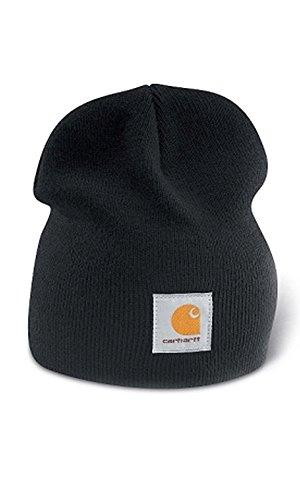 e Cap - Schwarz Strickmütze Hüte Beanie Mütze Kappe Männer CHA205BLK-Universal ()