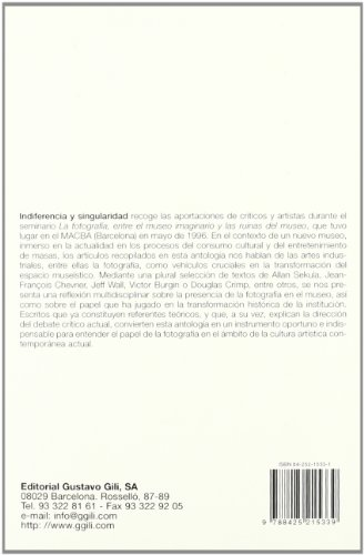Descargar Libro Indiferencia y singularidad (FotoGGrafía) de Glòria Picazo