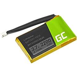 Green Cell® PR-652954 JN151PH13849 Batterie pour JBL Flip 2, Flip II (Li-Polymer Cells 2200mAh 3.7V)