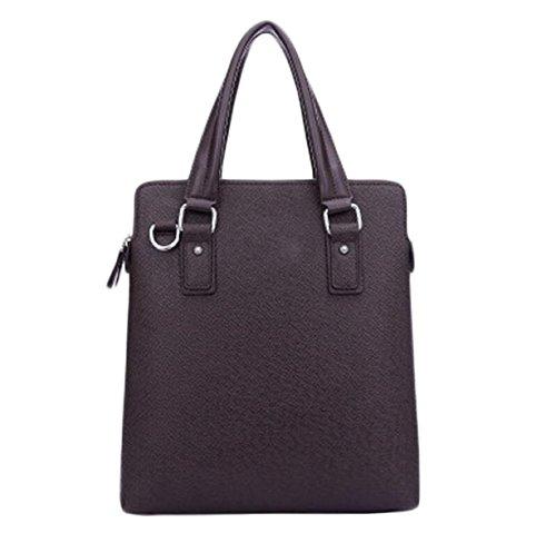 Borsa Tracolla Uomini D'affari Uomo Borsa Messenger Bag Sacchetto Di Svago I Viaggi Sacchetto Di Svago Brown2