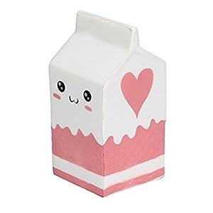Sayue Suave botella de yogur súper lento levantamiento niños juguete regalo (Blanco) de Sayue