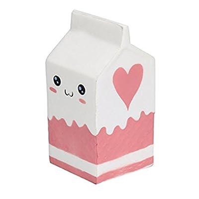 Kfnire Suave botella de yogur súper lento levantamiento niños juguete regalo (Blanco) de Kfnire