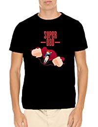 Fathers Day Gifts For Dad, Real Super Dad Men Cotton T-shirts By TheYaYaCafe