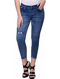 Broadstar Denim Solid Casual Jeans For Women