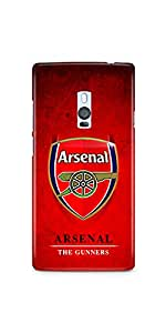 Casenation Arsennal The Gunners One Plus Two Matte Case
