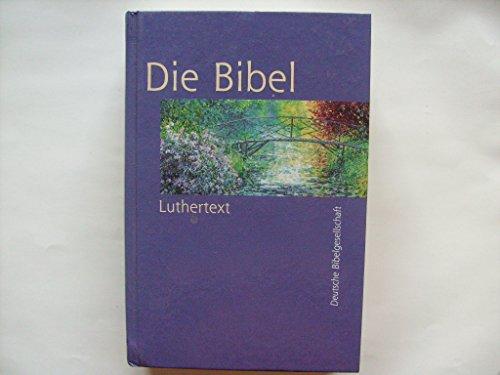 Die Bibel. Nach der Übersetzung Martin Luthers. Luthertext 1984. Standardausgabe, Linson schwarz