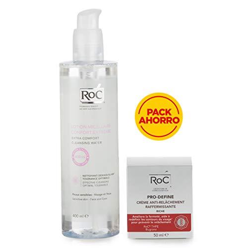 Pack Ahorro Roc Pro-Define Crema Anti-Flacidez + Agua