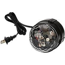 Kicode LED RGB de 5W magia Cristal Efecto de bola Stage Night Ligero Fiesta de control de voz DJ Disco KTV Club Lámpara de iluminación