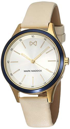Mark Madoox MC7107-07 Reloj de Mujer Cuarzo Acero IP dorado Tamaño 36 mm