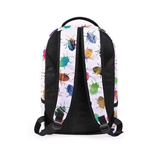 Lanspo Rucksack Sport Beutel Frauen Mann 3D Galaxie Spielraum Schultaschen Rucksack Rucksack Schulter Bookbag Schule Beutel kampierender Beutel B