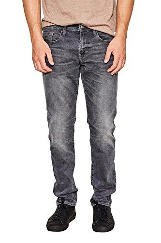 edc by ESPRIT Herren Slim Jeans 087CC2B004, Grau (Grey Dark Wash 921), W36/L32