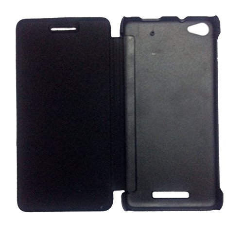 TBZ Flip Cover Case For Micromax Canvas 4 Plus A315 - Black