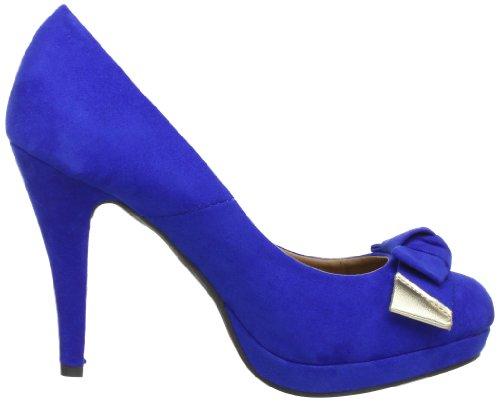 XTI 25827 SP13, Scarpe col tacco donna Blu (Blau (azul X19))