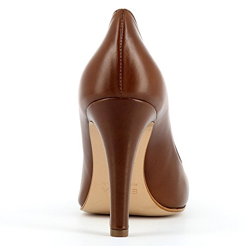 Evita Shoes Cristina, Escarpins femme cognac