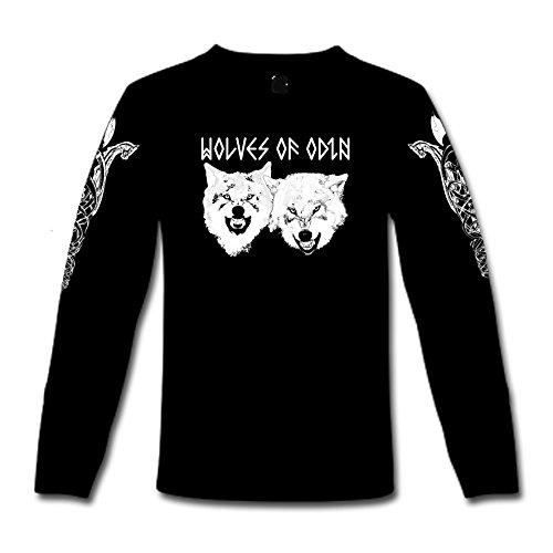 Norse Hammer -  Maglia a manica lunga  - Uomo nero XXL