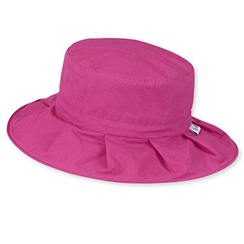 Sterntaler zusammenfaltbarer Reif-Hut mit Pop-up Funktion , Alter: ab 2-4 Jahre, Größe: 53, Magenta
