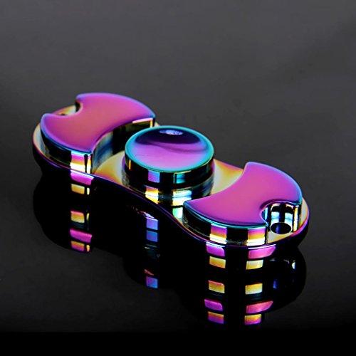 ILOVEDIY Hand Fidget Spinner Toys Teniendo alta velocidad Aliviar el estrés, Ansiedad, TDAH Adultos y Niños Juguetes - 4