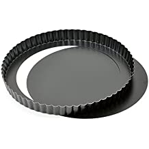 Kaiser Delicious - Molde para Quiches con Base Desmoldable - 28 cm / 11""