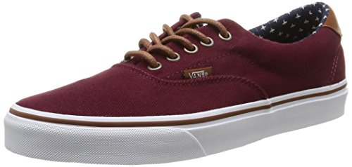 Vans ERA 59 Unisex-Erwachsene Sneakers Rot (t&l/windsor Wine/plus)