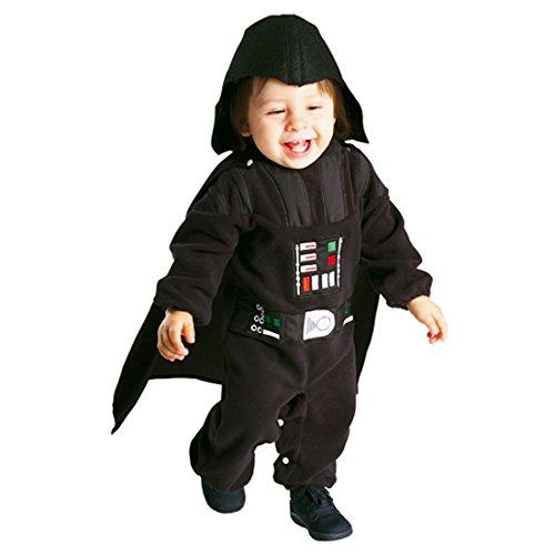 Wars Star Lord Sith Kostüm - Amakando Darth Vader Faschinkskostüm Baby Kostüm Kleinkind Star Wars Babykostüm Sith-Lord Strampler