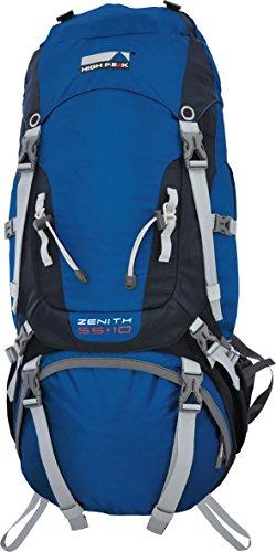 High Peak Zenith Zaino, Blu/Grigio Scuro, 65 Litri Blu/Grigio Scuro