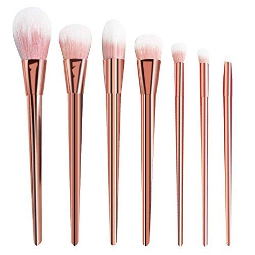 CINEEN Professionnel 7 pièces Pinceaux de Maquillage Visage Maquillage Fond De Teint Blush Liquide Crème Cosmetics Pinceau