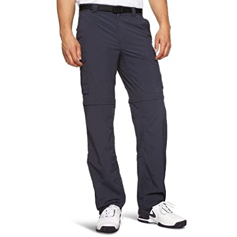 Columbia AM8004 Silver Ridge Pantalon Homme Abyss FR : 44 (Taille Fabricant : 34)