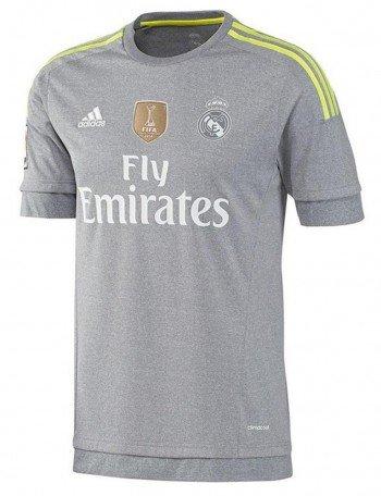 Adidas Trainingstrikots Real Madrid Away World Cup 2015-2016 Grey / Yellow S (Real Madrid Wc)