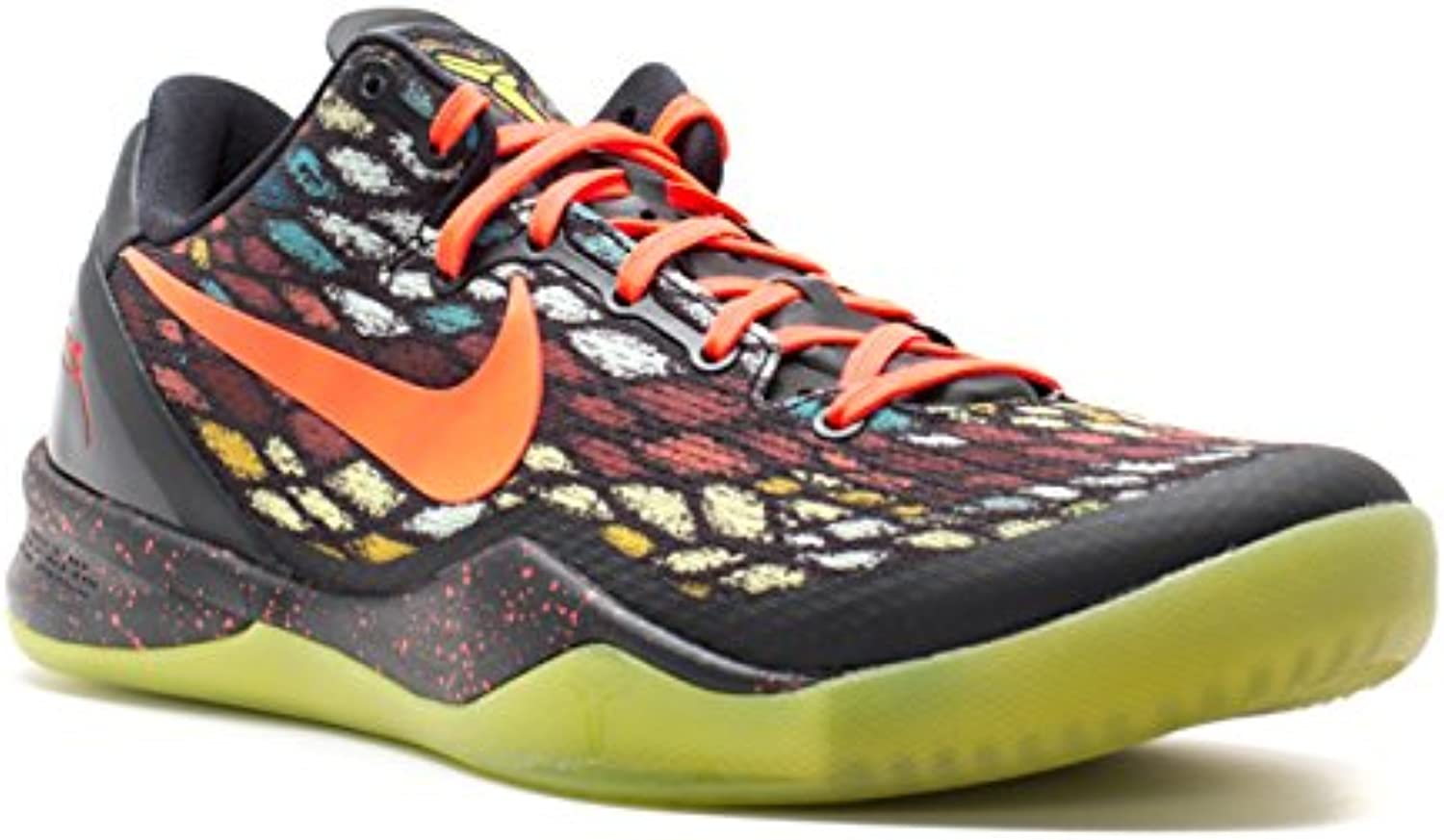 NIKE Kobe Black/Bright 8 System Christmas Black/Bright Kobe Crimson ...